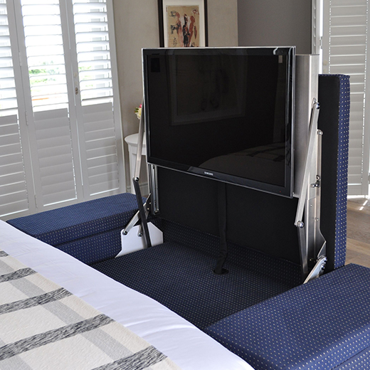 Definition Ottoman TV Lift Large with Side Storage incl. Mechanism