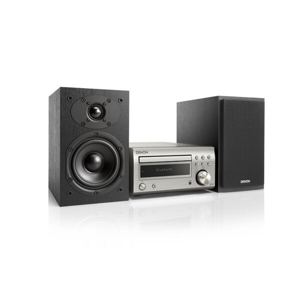Denon D-M41 Mini Hifi System, CD/Receiver, Bluetooth, Speakers