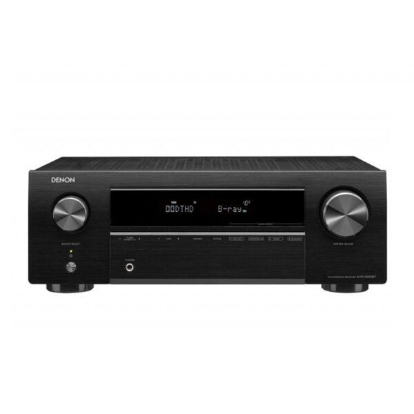 Denon AVR-X250BT 5.1 Ch. 4K Ultra HD AV Receiver with Bluetooth (Display Unit)