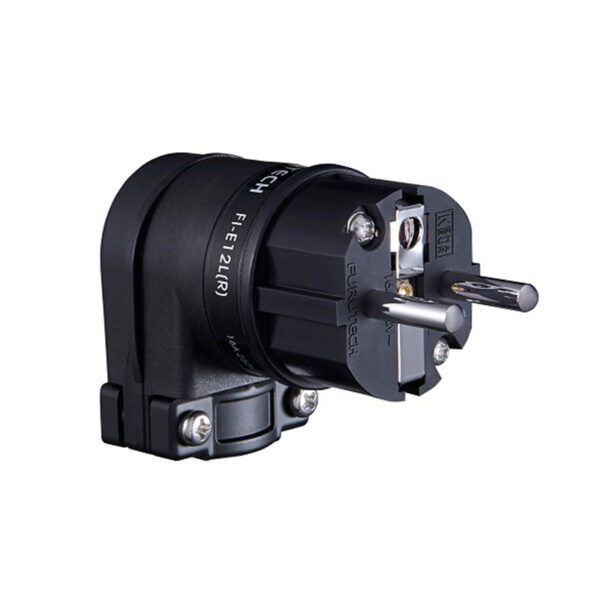 FURUTECH FI-E12L (R) – High End Performance Angled SCHUKO Connector (Each)