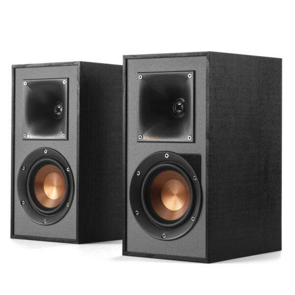 Klipsch R-41PM Powered Active Bookshelf Speakers – BLK/GNM (Pair)