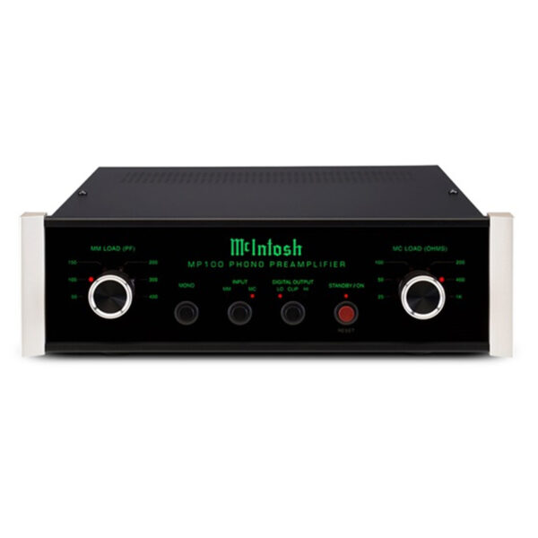 McIntosh MP100 – 2-Channel Solid State Phono Preamplifier