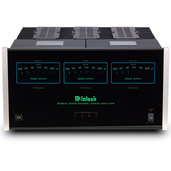 McIntosh MC8207 – 7-Channel Solid State Amplifier 200W/ch