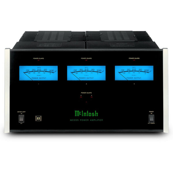 McIntosh MC205 – 5-Channel Solid State Amplifier 200W/ch