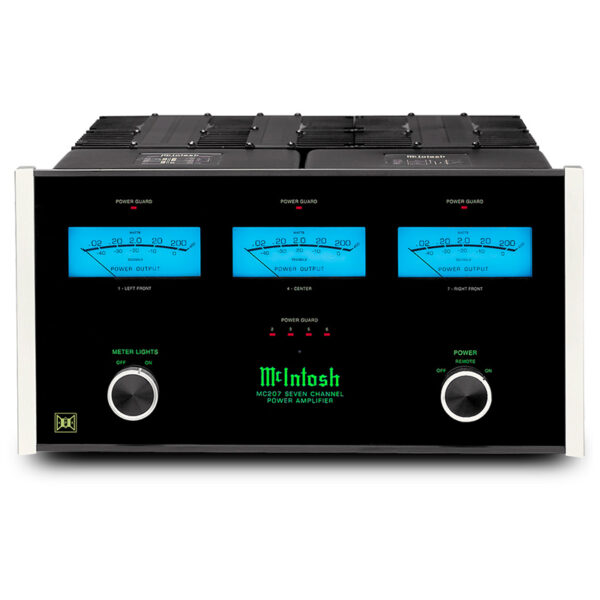 McIntosh MC207 – 7-Channel Solid State Amplifier 200W/ch