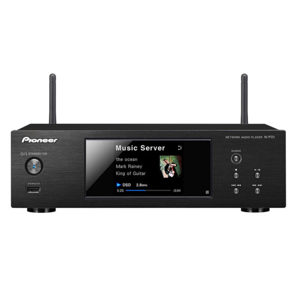 Pioneer N-P01 Compact Wireless Network Audio Player