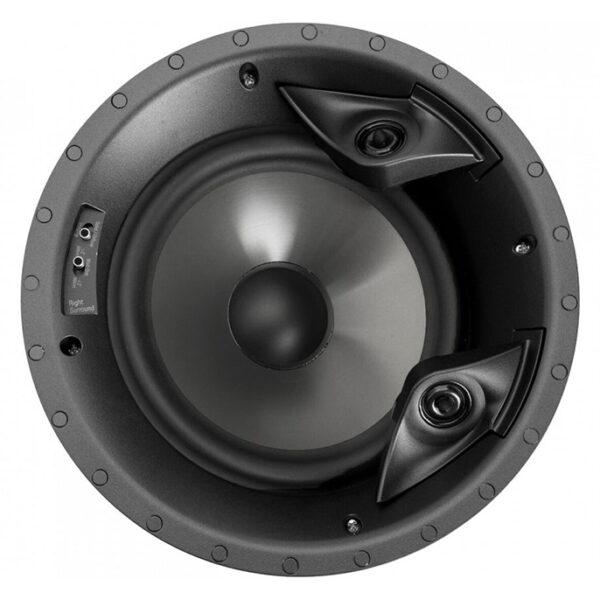 Polk 80F/XLS 8 Dual Tweeter Polypropylene In-Ceiling Speaker (Each)