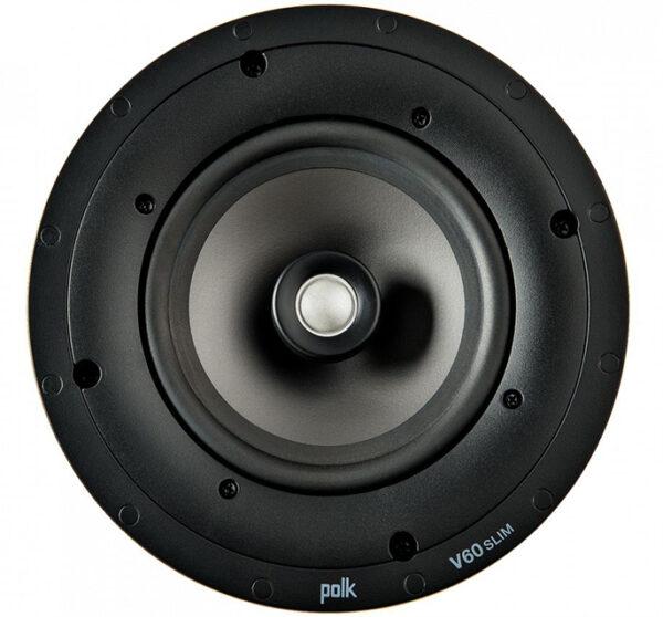 Polk V-60slim 6.5 Polymer In-Ceiling Speaker (Each)