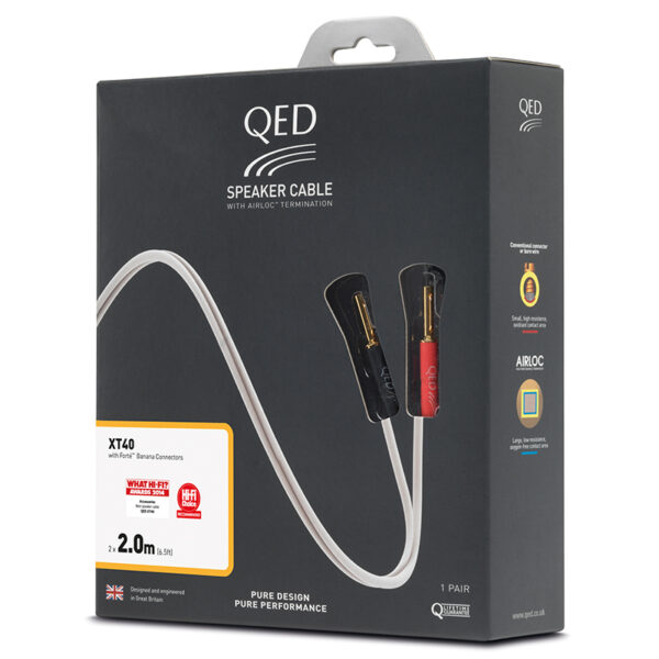 QED Reference XT25 Pre-Term Speaker Cable
