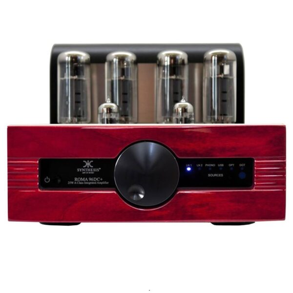 Synthesis Roma 96DC+ Pure A Class Integrated Stereo Amplifier with Digital Inputs 25w/ch