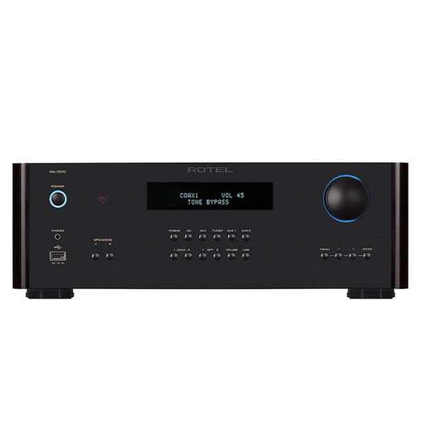 Rotel RA-1572 Integrated Stereo Amplifier – 120w/ch