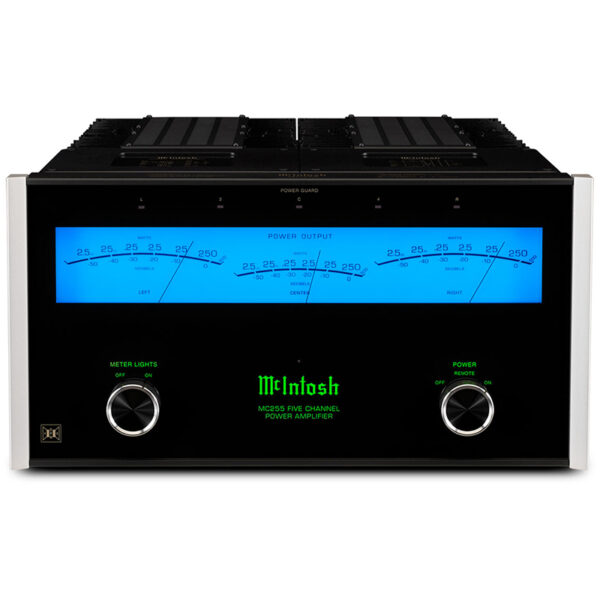McIntosh MC255 5-Channel Solid State Amplifier