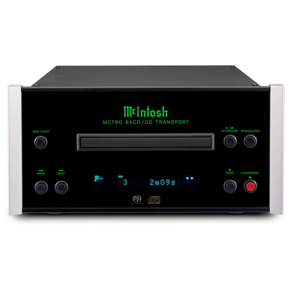 McIntosh MCT80 2-Channel SACD/CD Transport