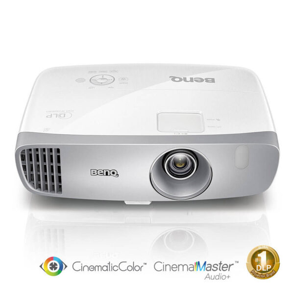 BenQ W1110 Home Cinema Projector with Vertical Lens shift and FHD Wireless Kit