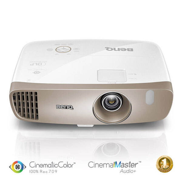 BenQ W2000 Home Cinema Projector with 100% Rec.709, Audio Enhancer
