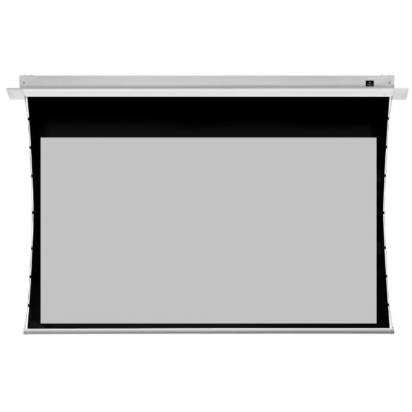 JK HD Professional Series In Ceiling Tab Tensioned Electric Screens High Contrast