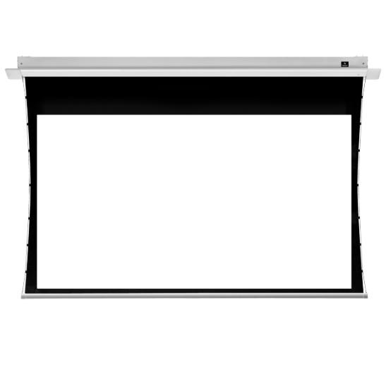 JK HD Professional Series In Ceiling Tab Tensioned Electric Screens
