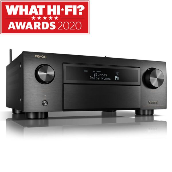 Denon AVC-X6700 11.2 Ch. 8K AV Receiver with 3D Audio, HEOS® Built-in and Voice Control