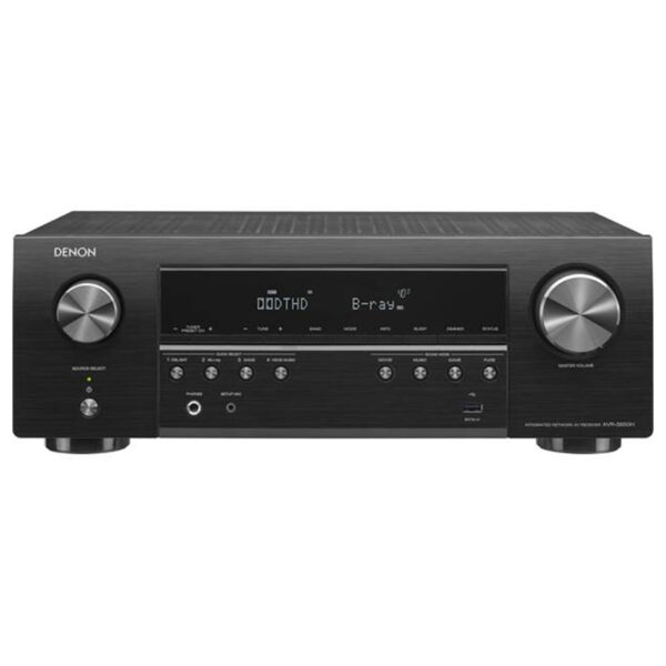 Denon AVR-S650H – 5.2 Channel AV Receiver