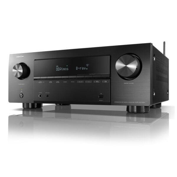 Denon AVR-X2700H 7.2ch 8K AV Receiver with 3D Audio, HEOS Built-in and Voice Control
