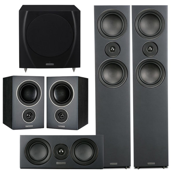 Mission LX Speaker Package 2