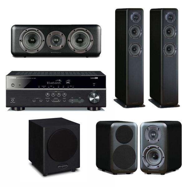 Yamaha / Wharfedale Harmony Pack 2 – 5.1 Home Theatre System