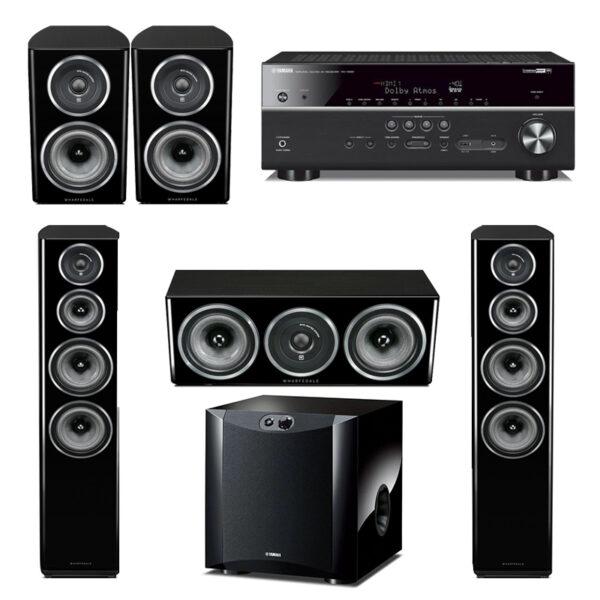 Yamaha Wharfedale Harmony Pack 3 – 5.1 Home Theatre System