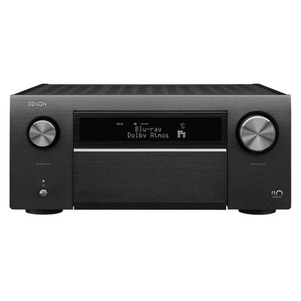 Denon AVC-A110 13.2 Ch 8K AV Amplifier with 3D Audio, HEOS Built-in and Voice Control