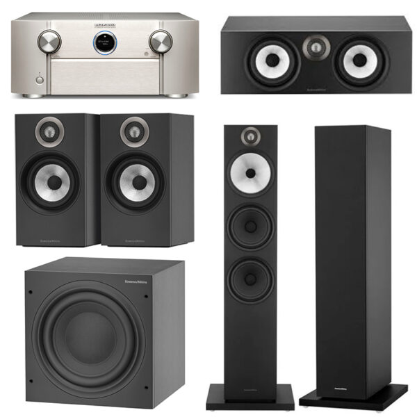 Marantz and Bowers & Wilkins 5.1 Speaker Package