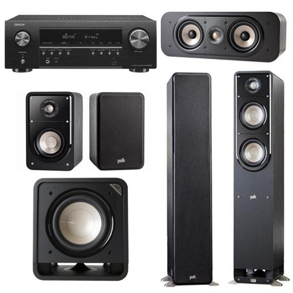 Polk Audio S50E 5.1 Speaker Package 1