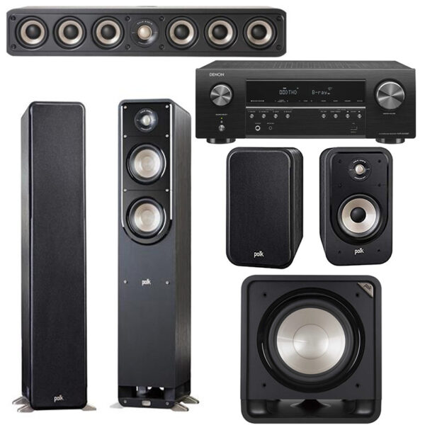 Polk Audio S50E 5.1 Speaker Package 2