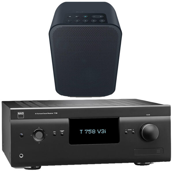 NAD and Bluesound Anywhere Package 1