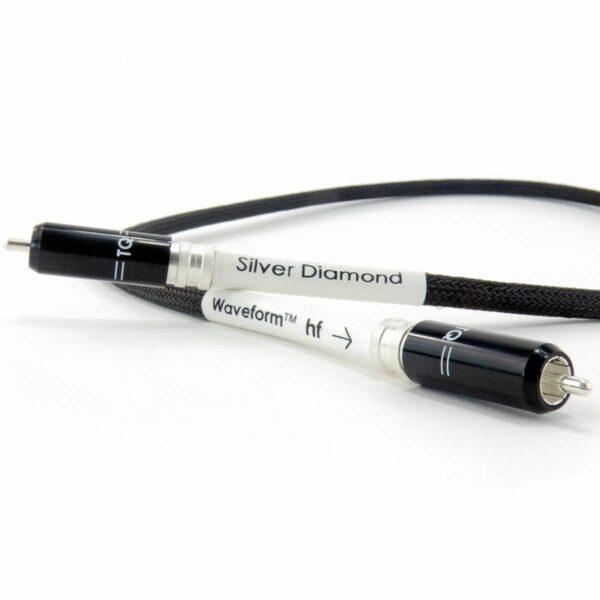 Tellurium Q Silver Diamond Waveform™ HF Digital RCA Cable