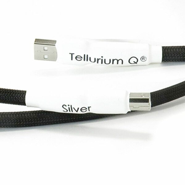 Tellurium Q Silver USB Type A to Type B Cable