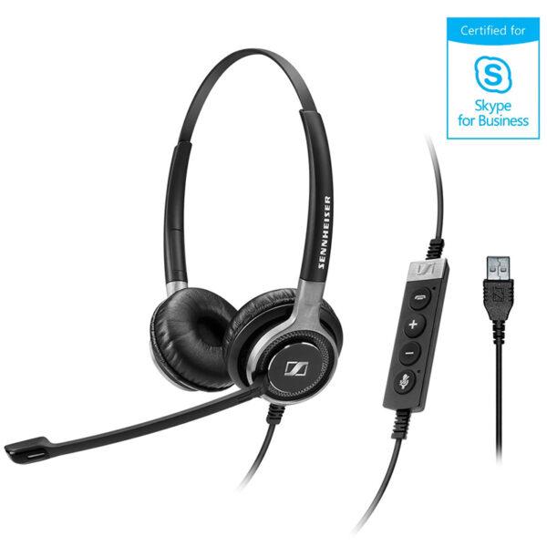 Sennheiser SC 660 USB ML Office Headset